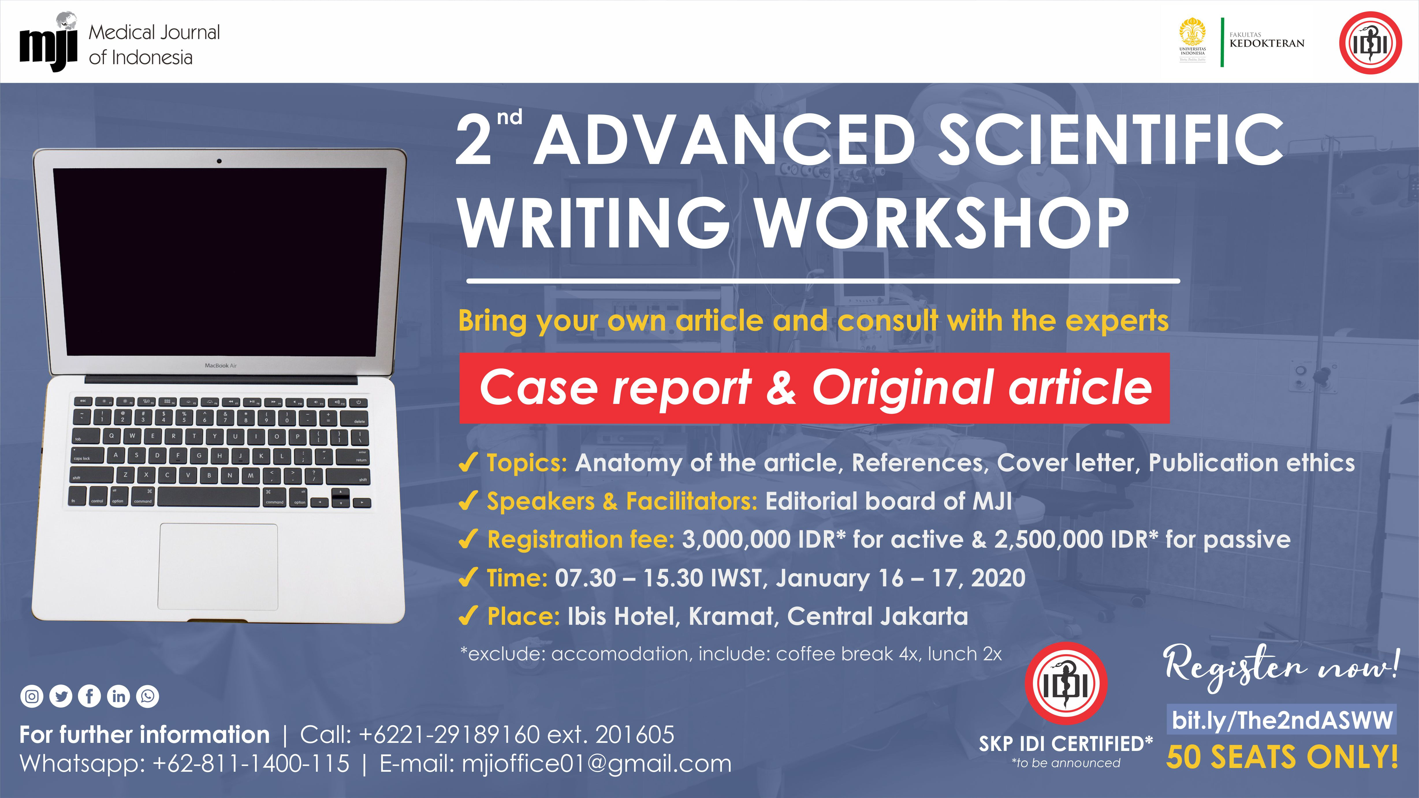 Call For Papers on Specific Topic
